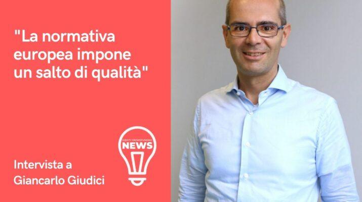 Intervista a Giancarlo Giudici sul futuro del crowdfunding in Italia